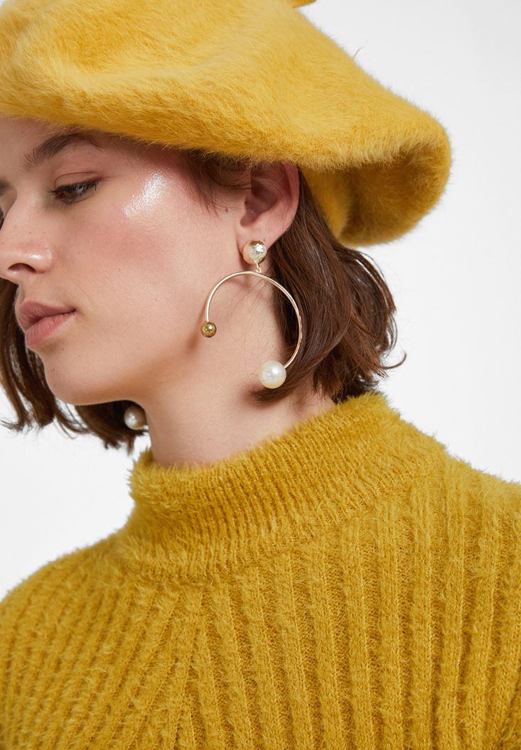 Mixed Bejewelled Metallic Earrings