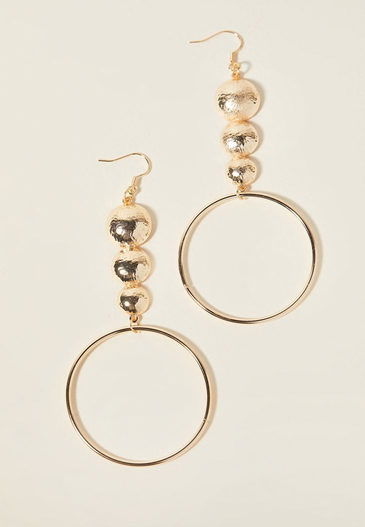 Mixed Detailed Hoop Earrings