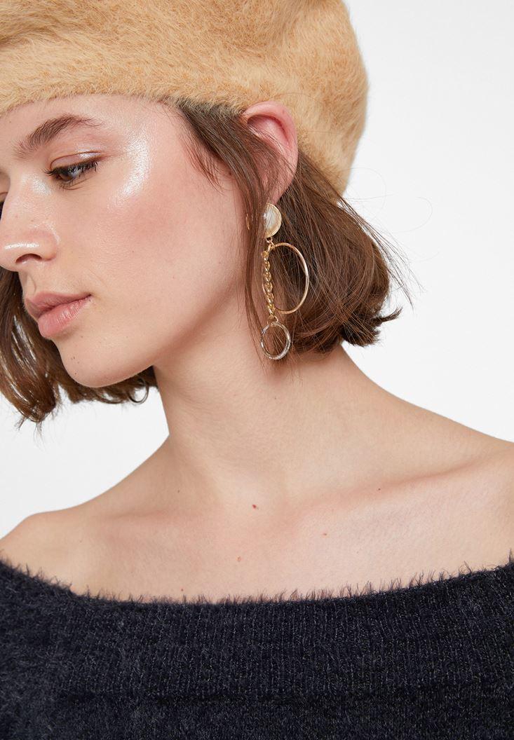 Mixed Circle Earrings