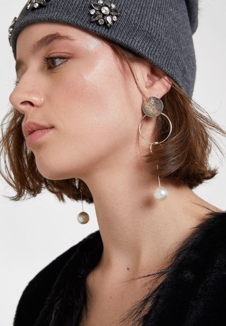 Mixed Multi Hoop Dangle Earrings