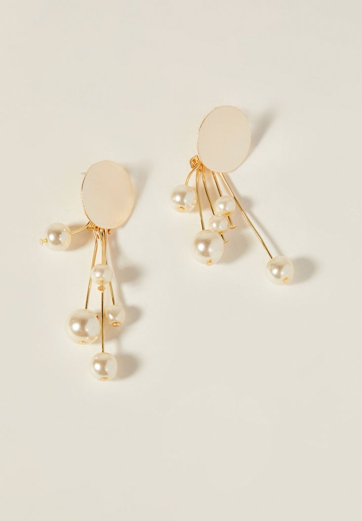 Earrings with Peral Detail