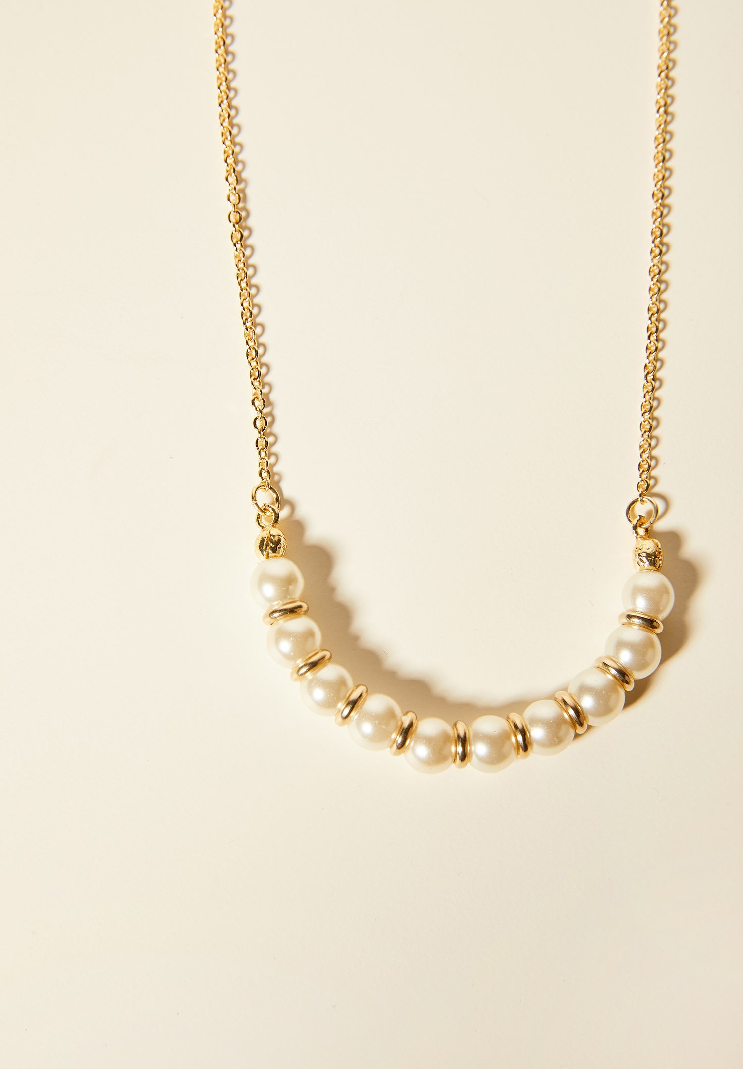 Women Mixed Necklace with Pearl