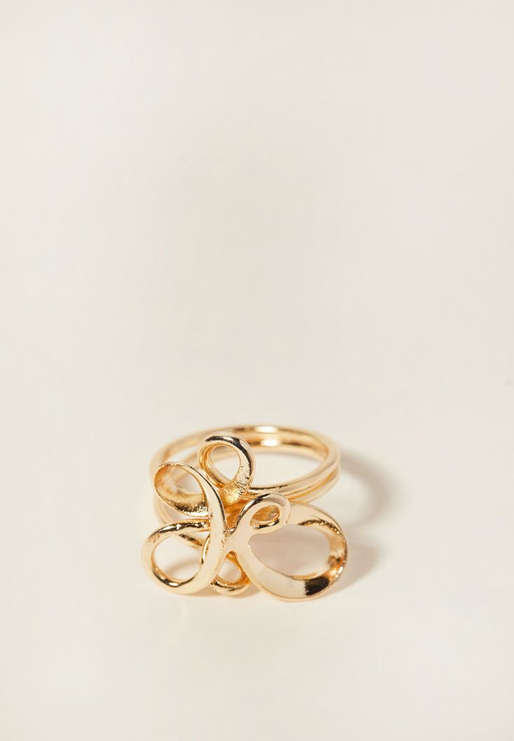 Mixed Spiral Ring