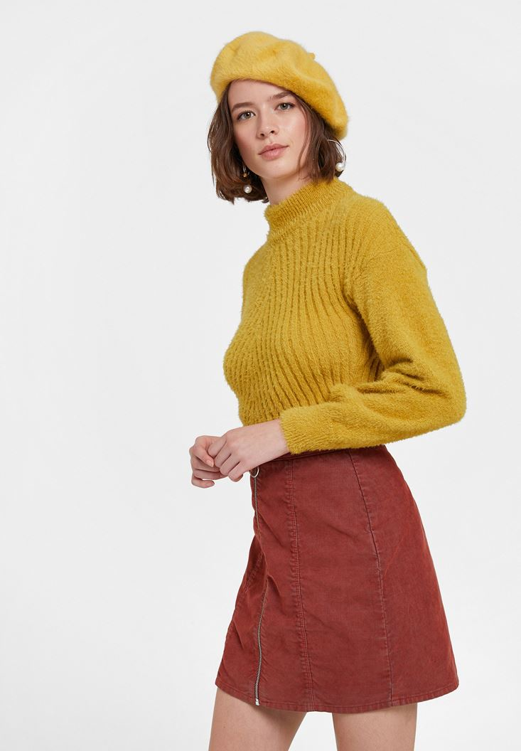 Roll Neck Long Sleeve Knitwear