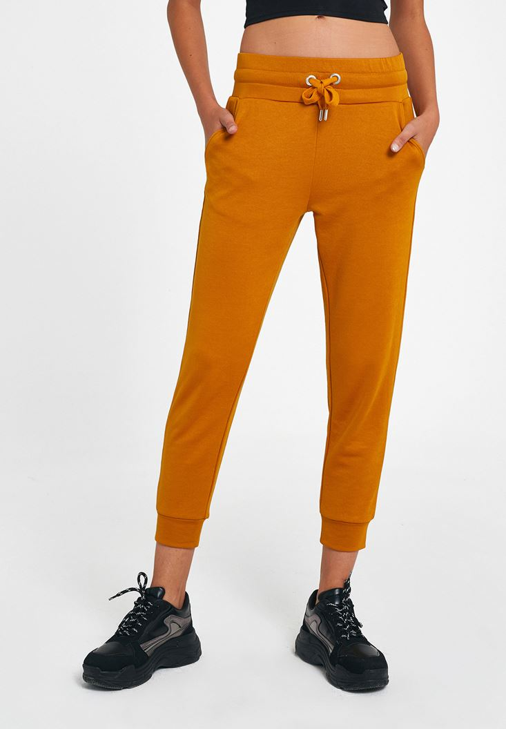 Yellow Jogger with Detail