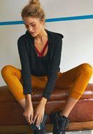 Bayan Sarı Paçası Detaylı Jogger