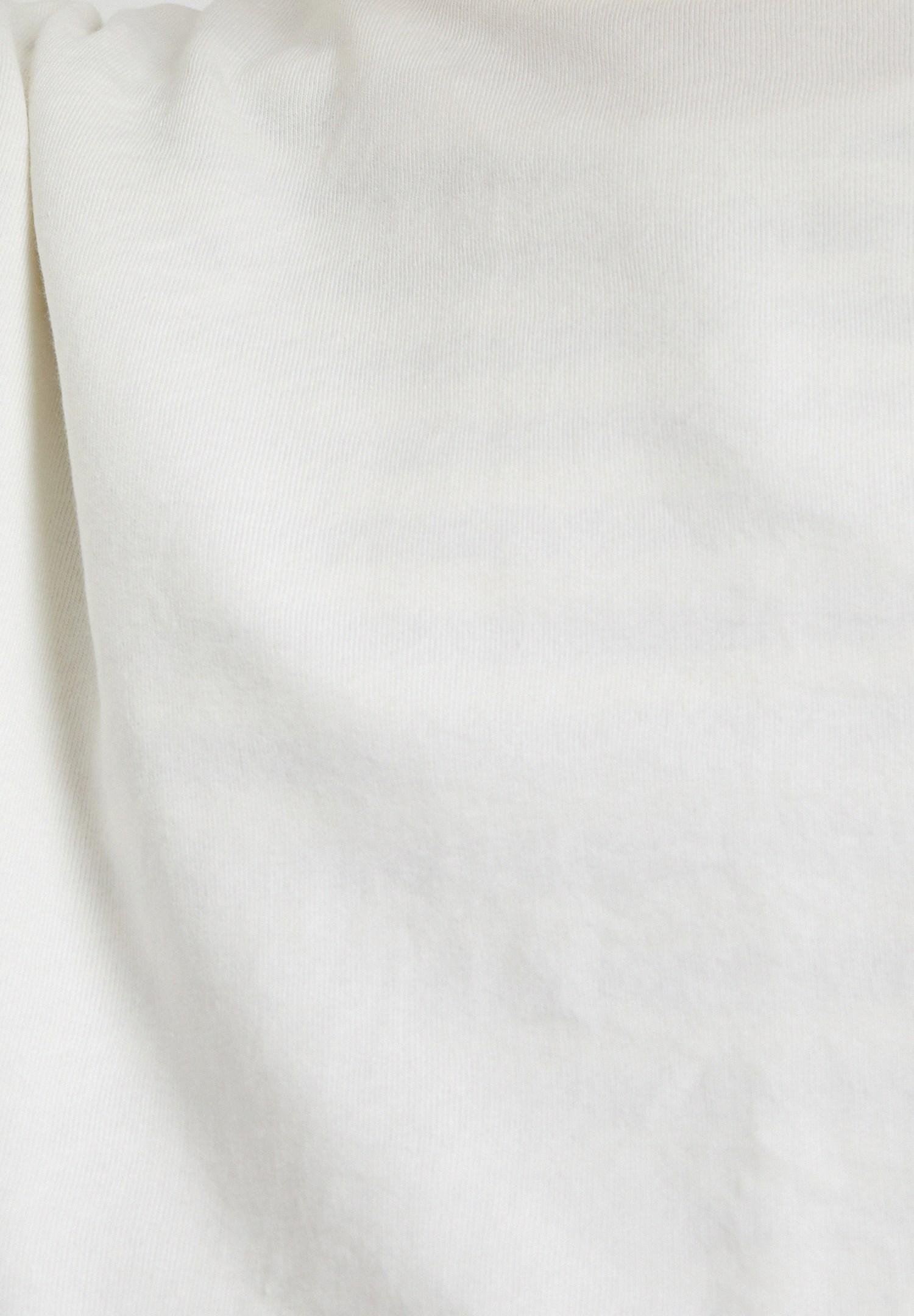 Bayan Krem Sırt Baskılı Sweatshirt