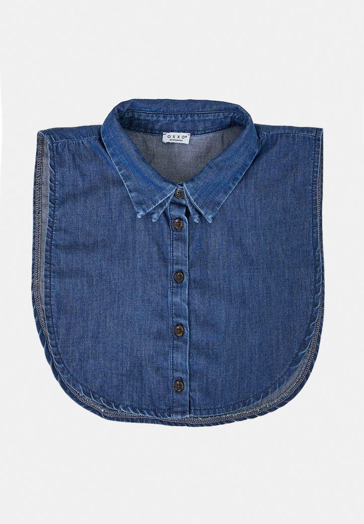 Mavi Denim Gömlek Yakası
