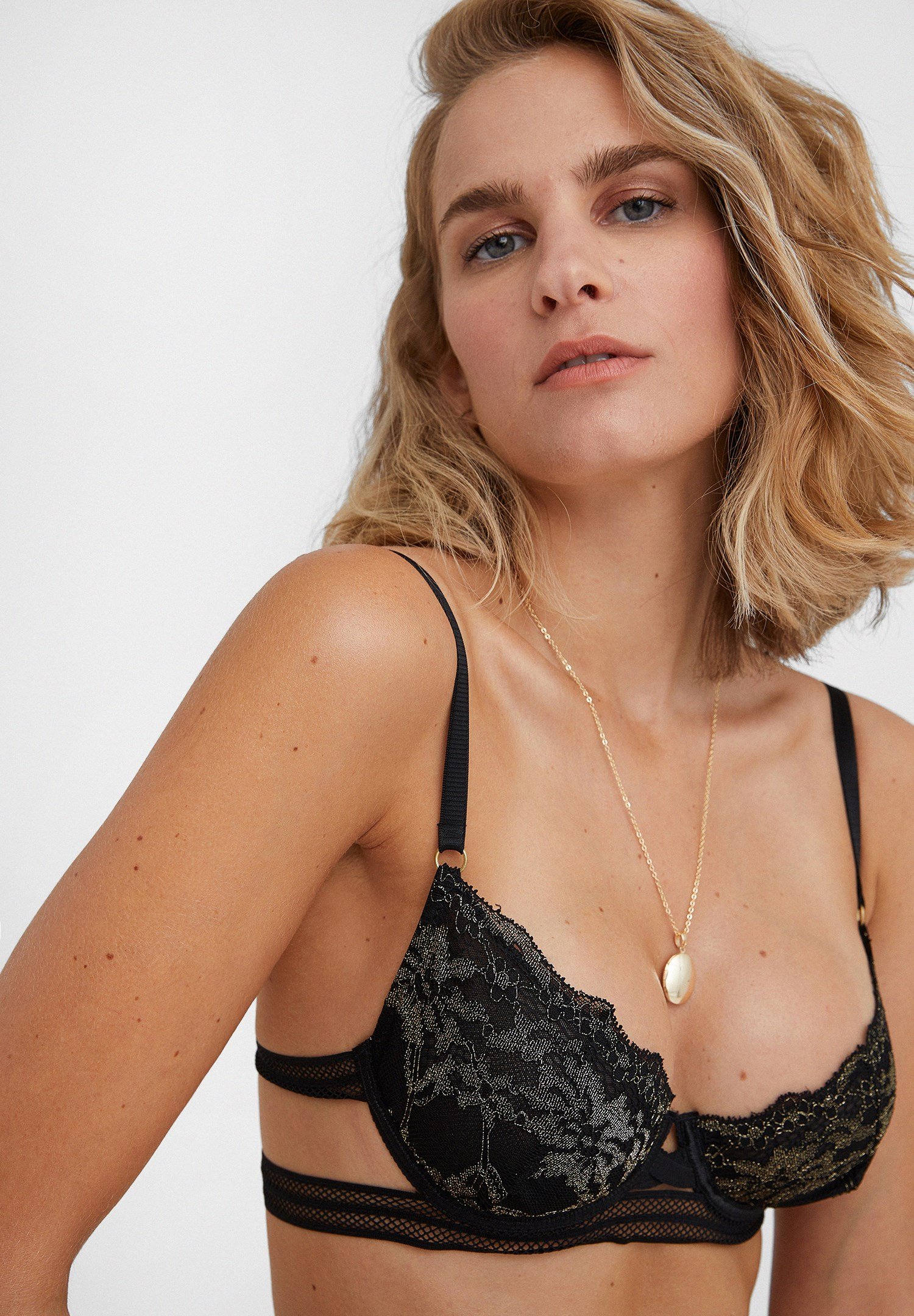 Women Mixed Bustier with Details
