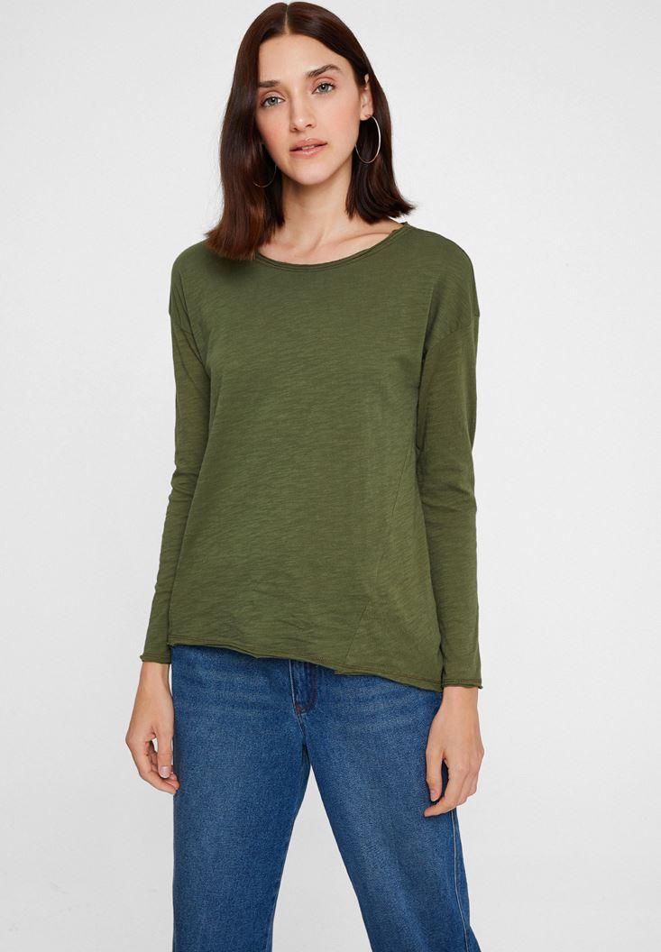 Green Round Neck T-shirt