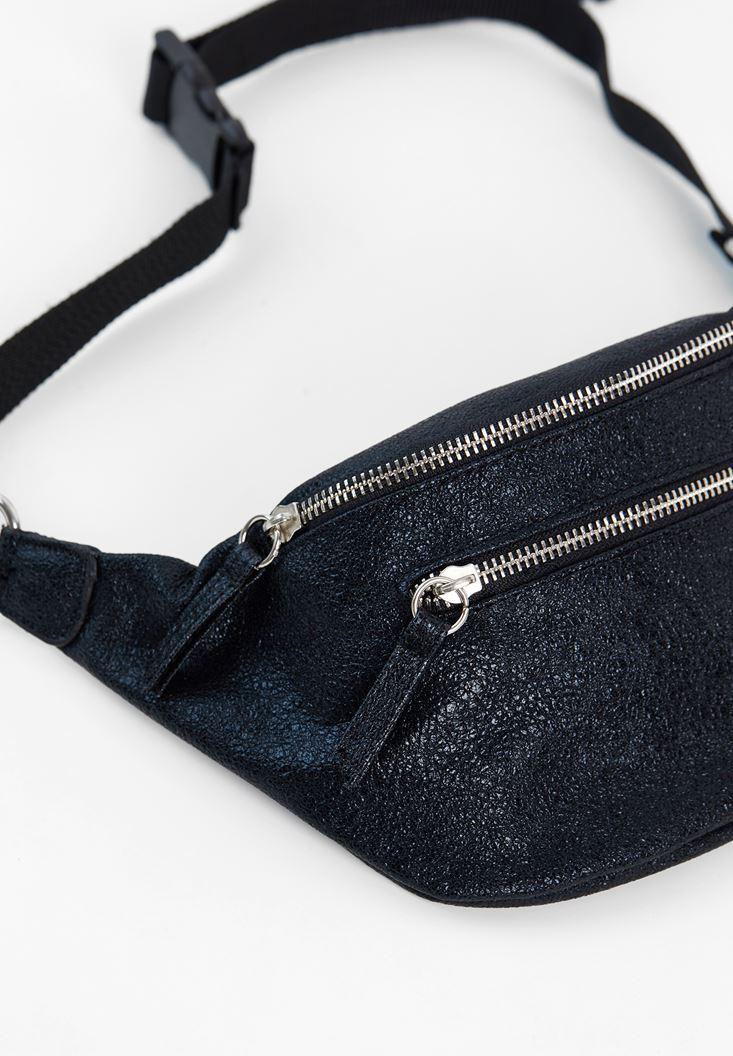 Belt Bag with Shiny Details