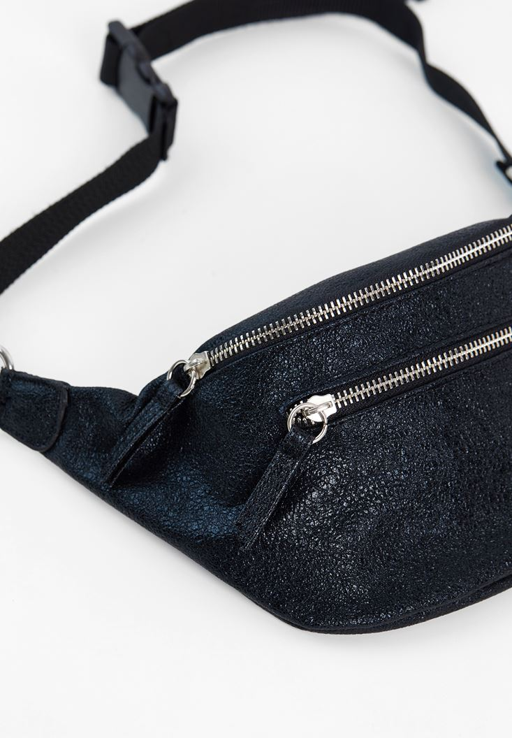 Belt Bag with Shiny Details
