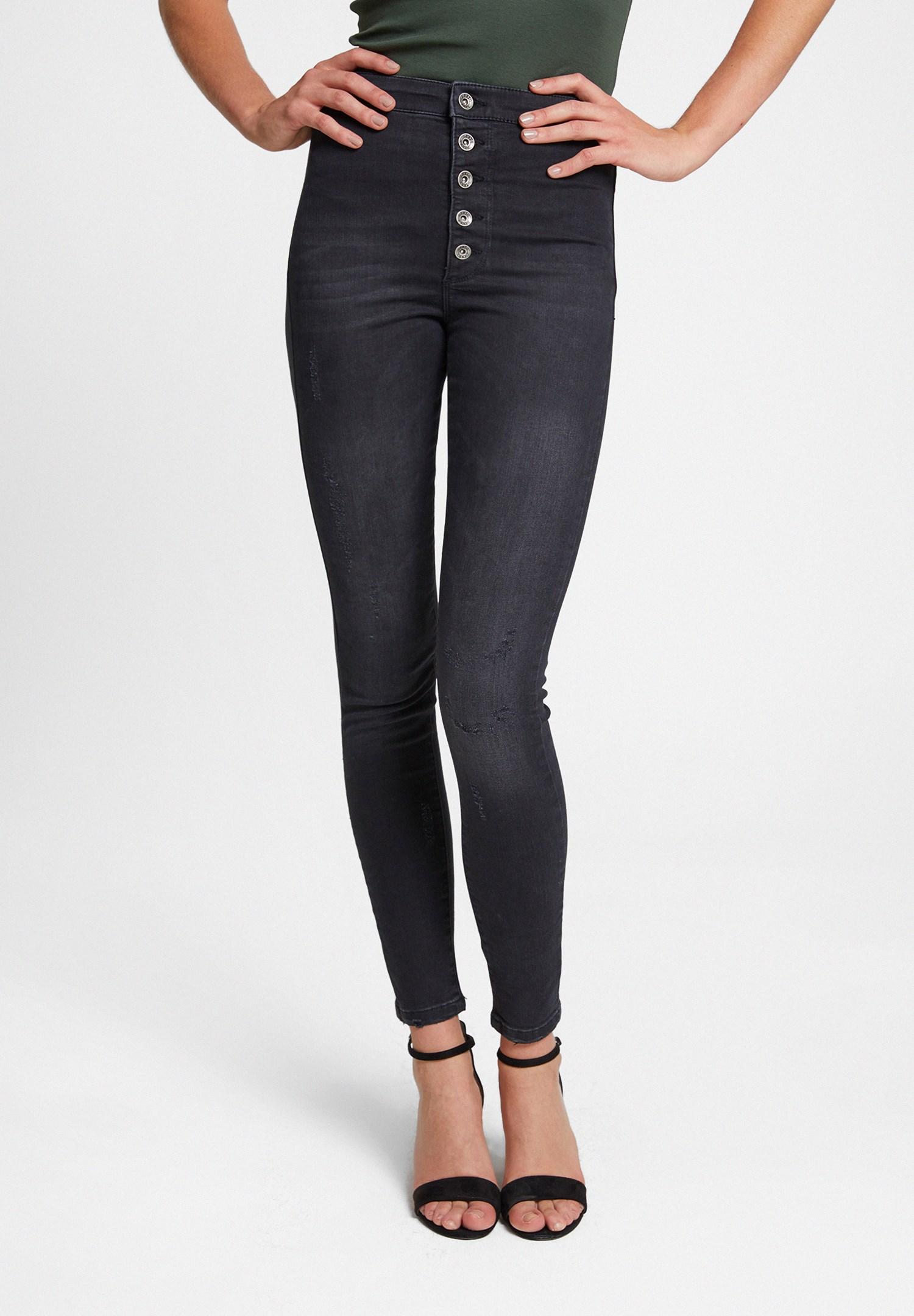 Women Black Skinny Denim Jean
