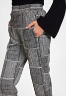 Women Mixed Jogger with Mix Pattern