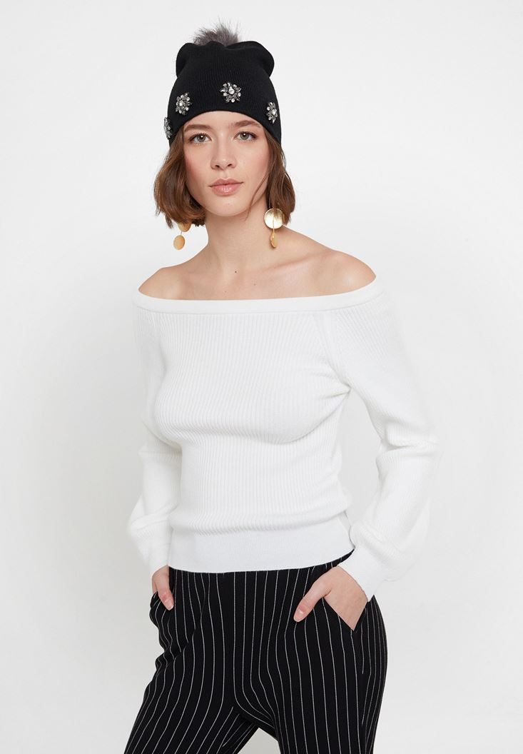 Long Sleeve Pullover with Neck