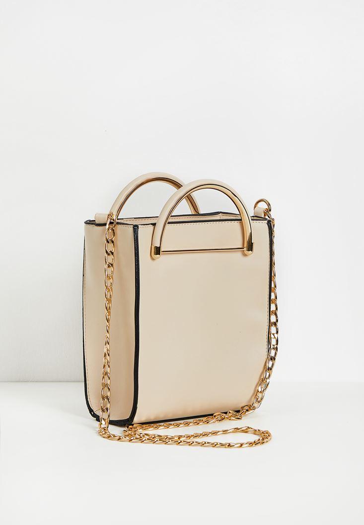 Box Shape City Bag