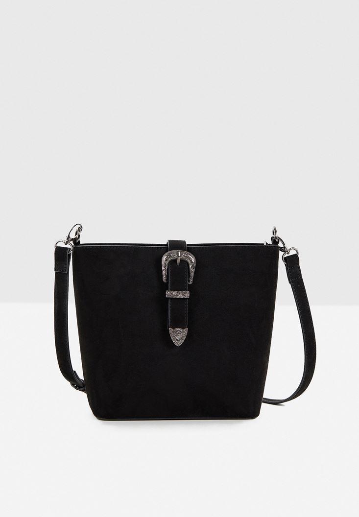 Suede Shoulder Bag