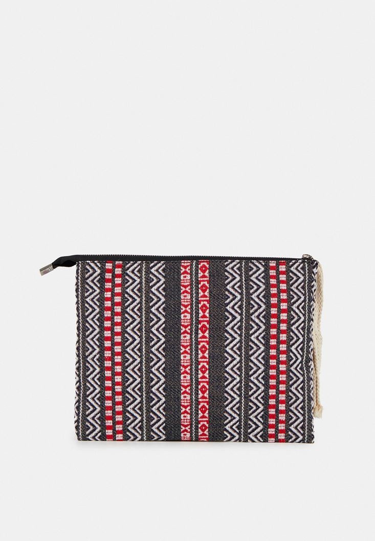 Mixed Clutch with Mix Pattern and Zipper