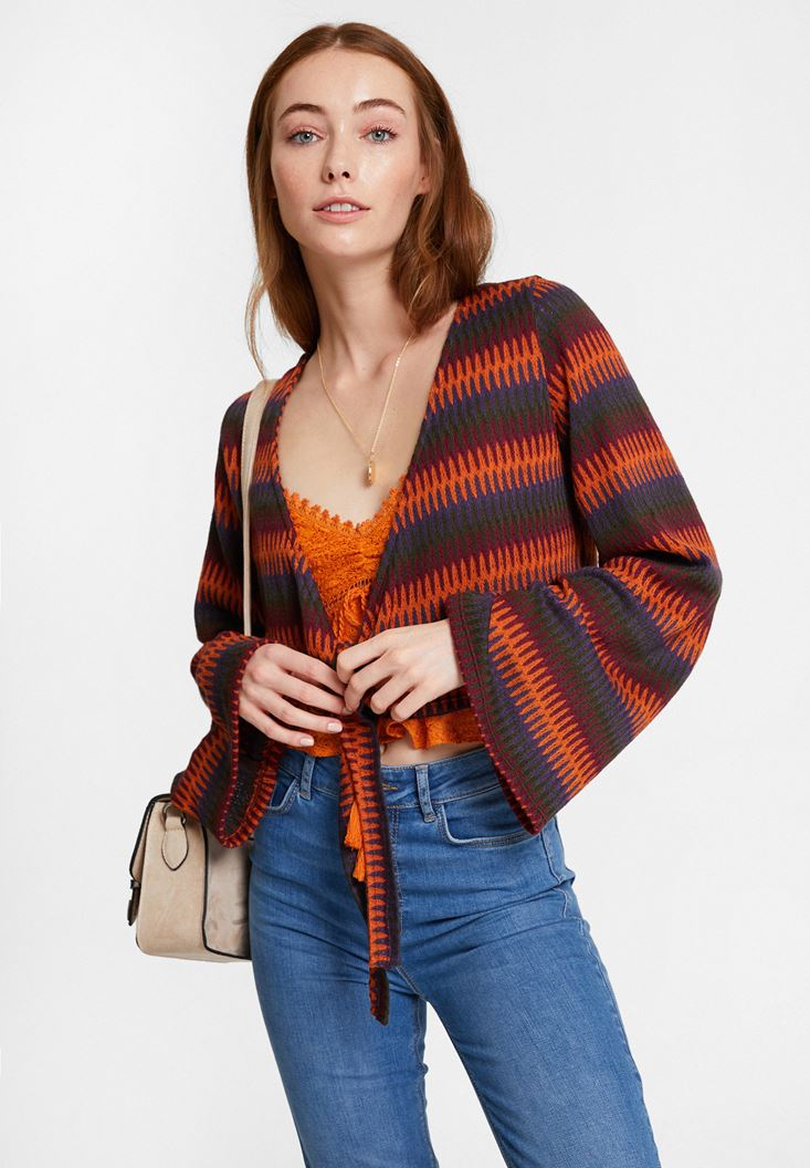Mixed Knitwear with Mix Pattern