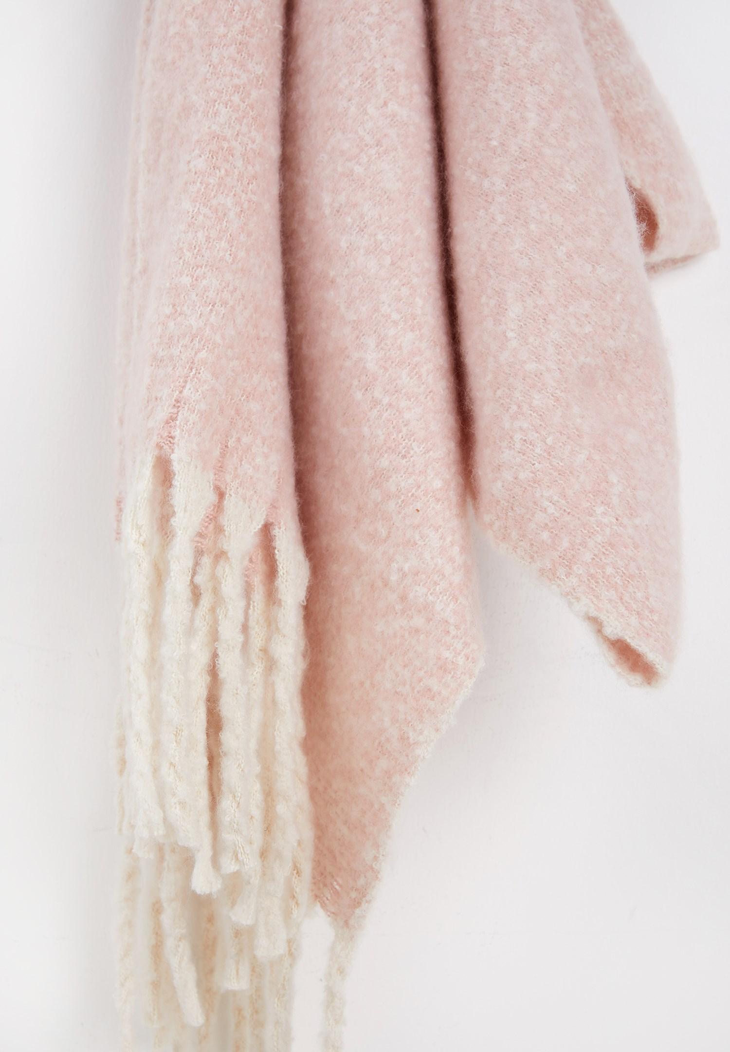 Women Pink Soft-Feel Shawl