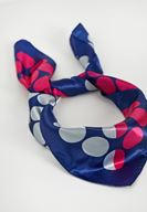 Women Mixed Polka Dot Scarf