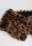 Women Mixed Leopard Pattern Neck