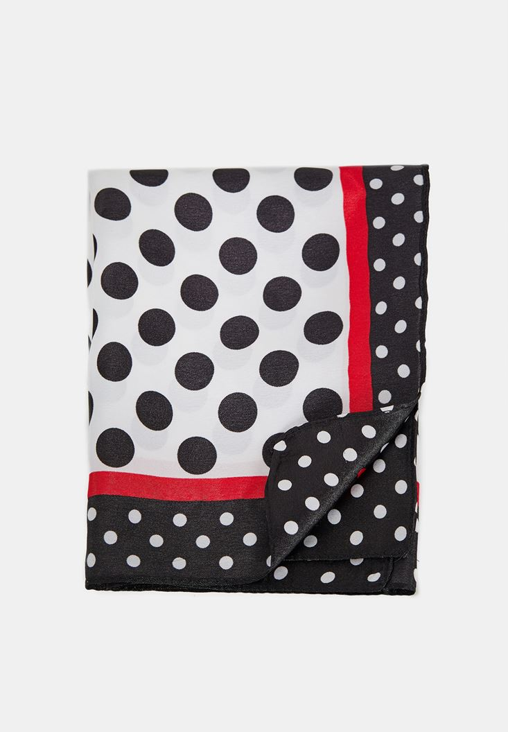 Scarf with Polka Dot