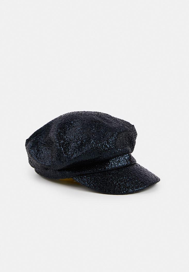 Parlak Detaylı Cap