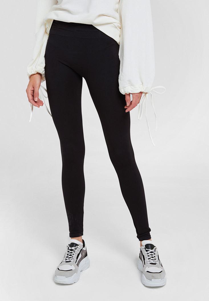 Black Legging with Detail