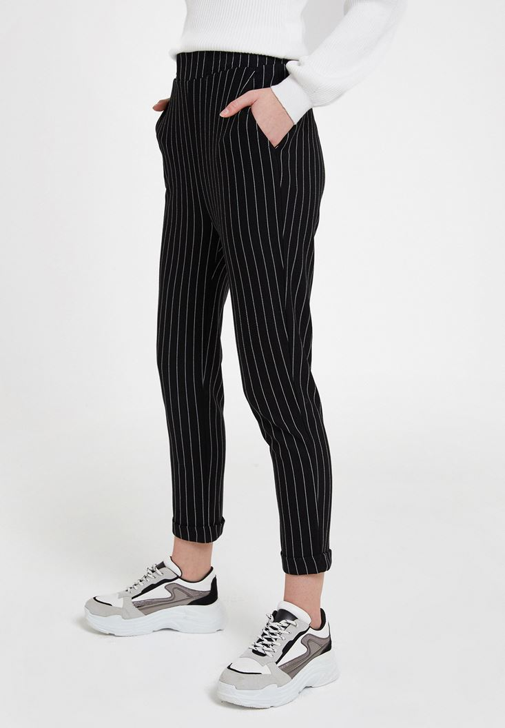 Jogger with Stripe