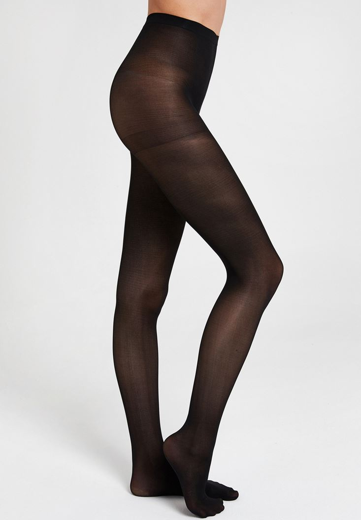 Black Tights with Detail