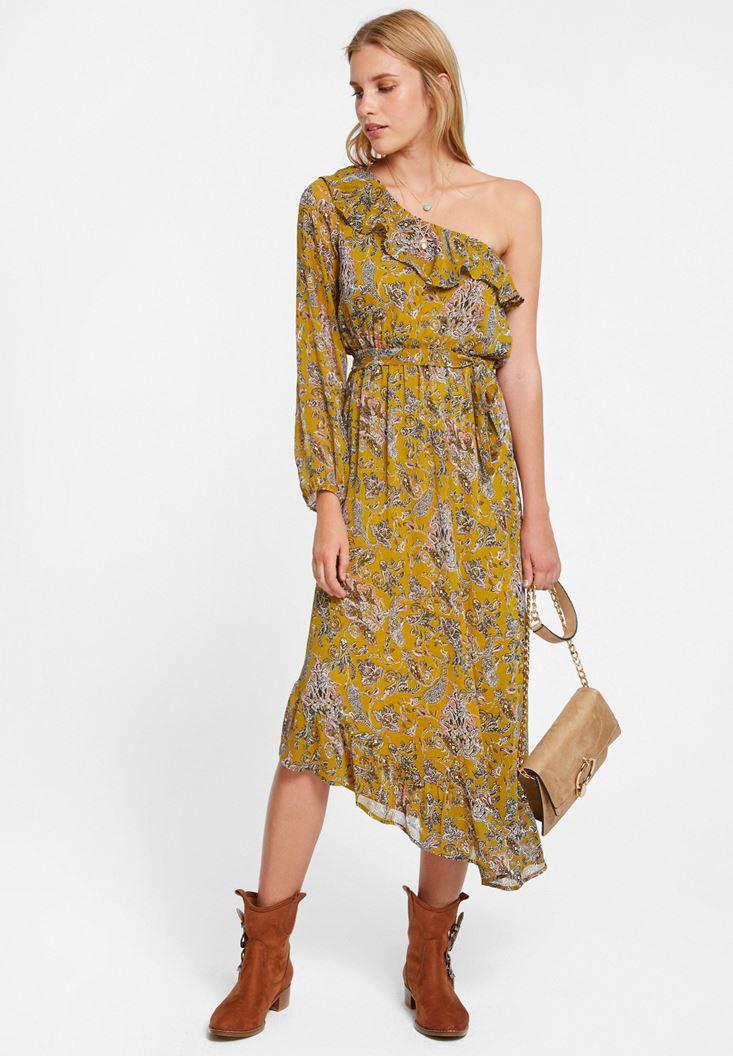Mixed Printed Dress