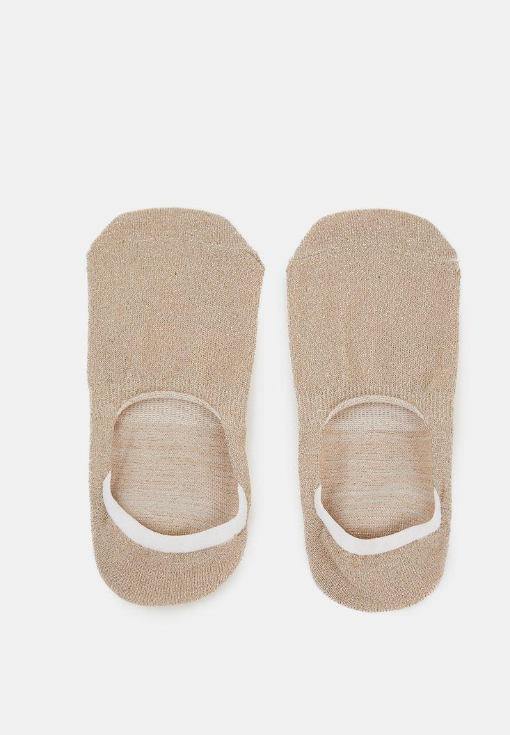 Mixed Shiny Socks with Detail
