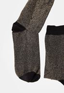 Bayan Çok Renkli Parlak Çorap