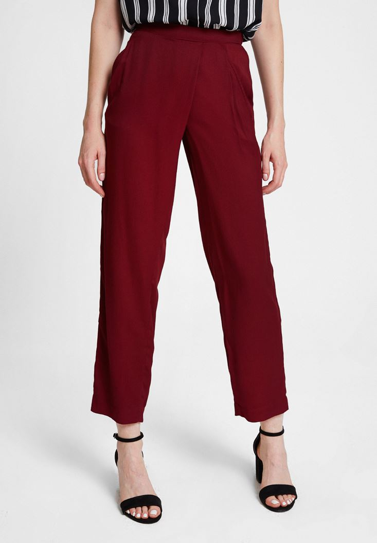 Bordeaux Trousers with Pocket