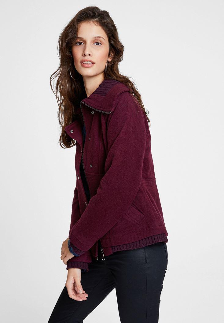 Purple Wool Jacket