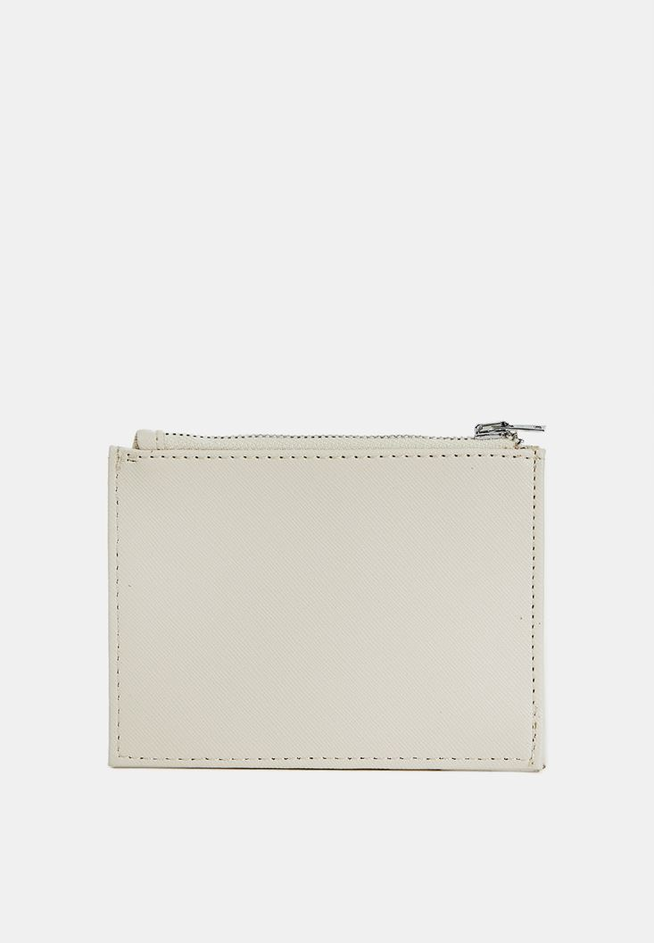 Grey Multiple Compartment Cardholder