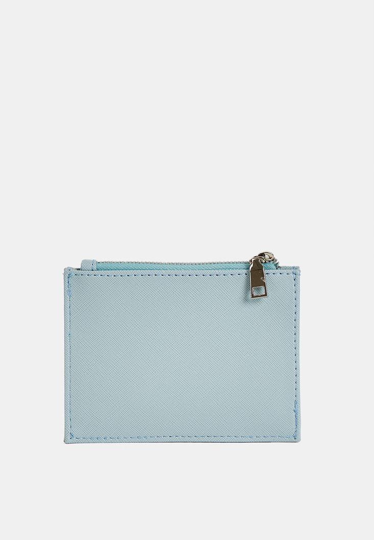 Blue Multiple Compartment Cardholder