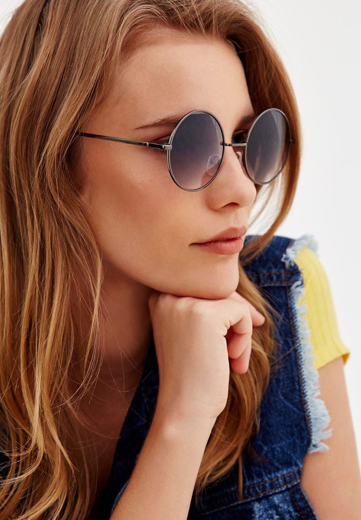 Yuvarlak Camlı Gözlük