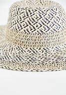 Bayan Çok Renkli Karışık Desenli Hasır Şapka