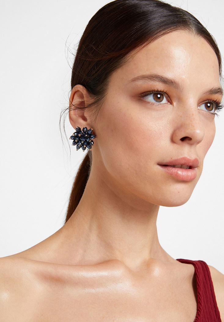 Mixed Flower Earring