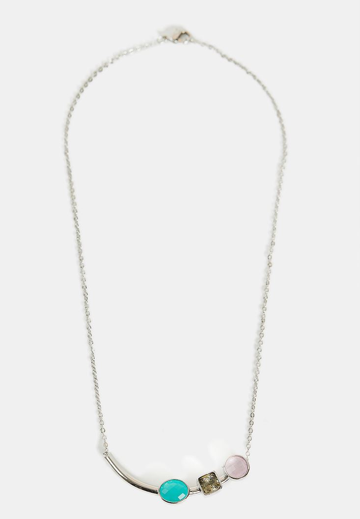 Mixed Bead Chain Necklace