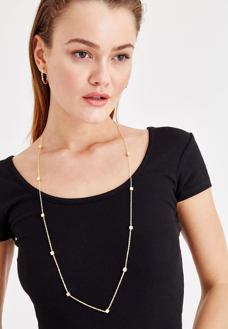 Mixed Gold Necklace
