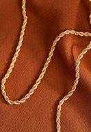 Bayan Çok Renkli Gold Zincir Kolye