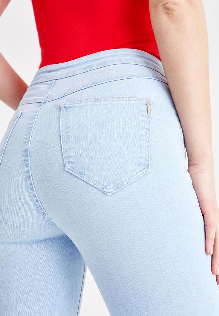 Women Blue High Rise Skinny Denim Jeans
