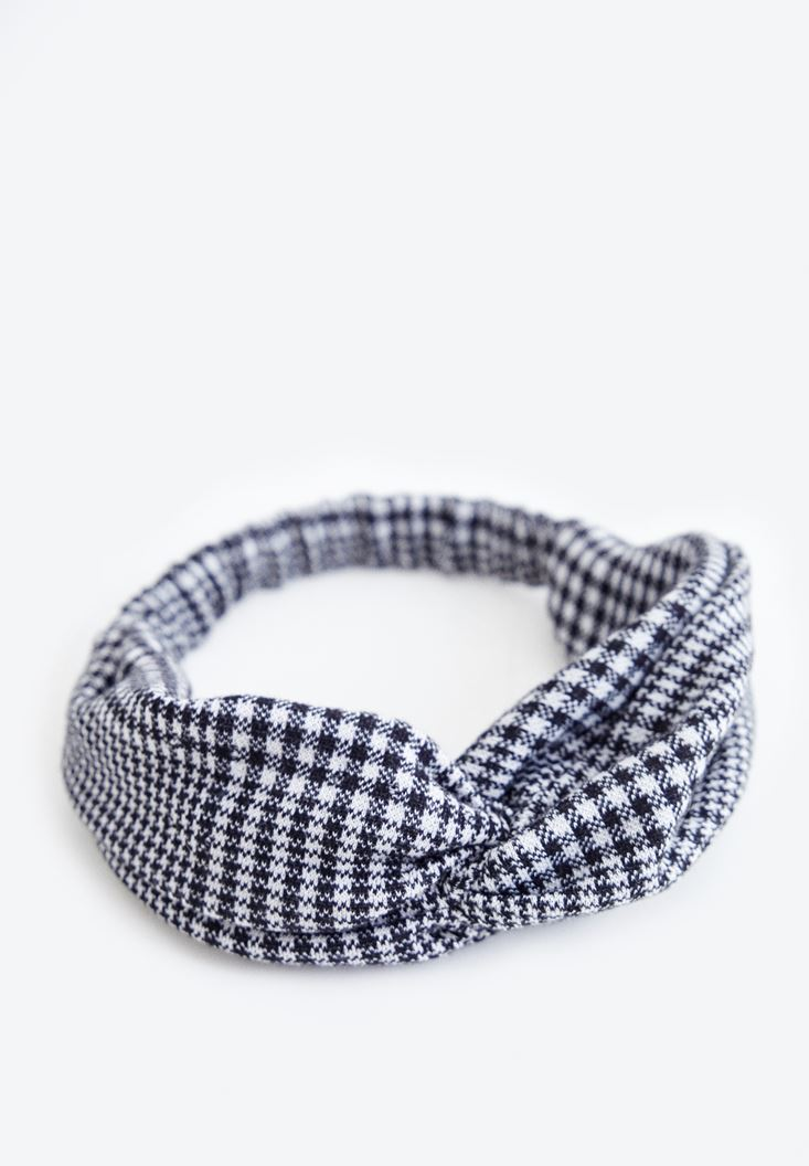 Houndstooth Hair Band
