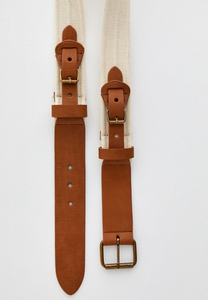 Brown Buckled Belt