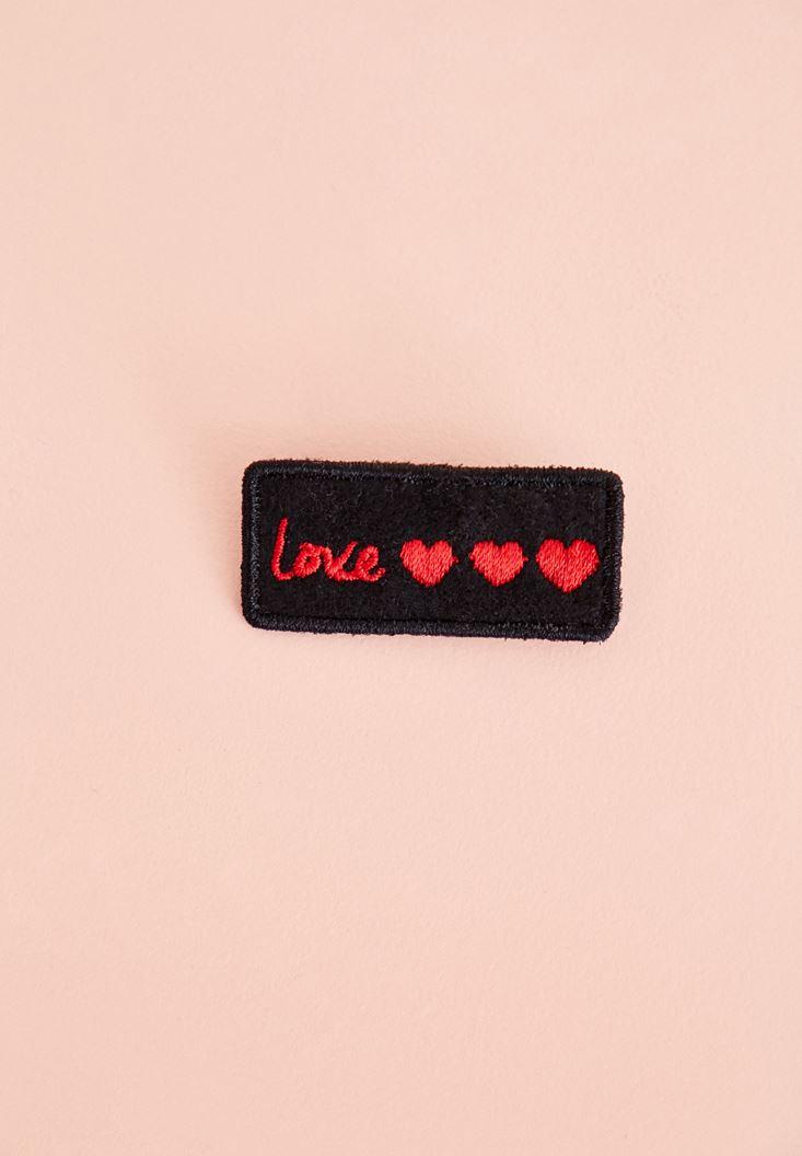 Black Love Pin