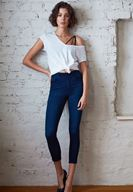 Women Blue High Rise Skinny Jeans with Details