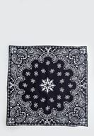 Women Black Scarf with Details